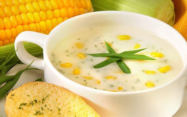 ซุปครีมข้าวโพดกับเนื้อปู เมนูง่ายๆ ที่ดูแพง