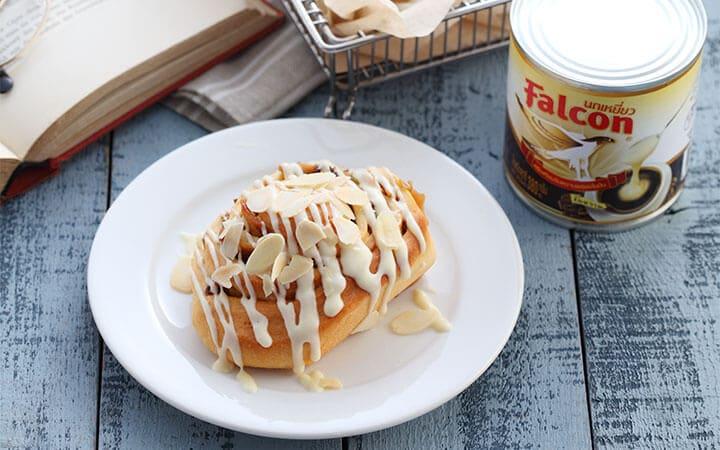 ขนมปังนมสดไส้แอปเปิล หวาน นุ่ม หอมกลิ่นเนย | Falcon Professional