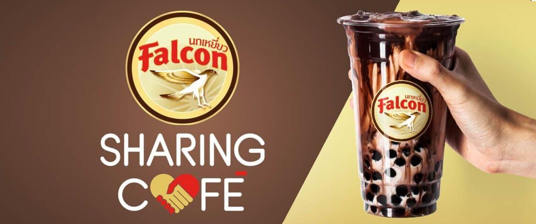 """สู้ไปด้วยกัน! """"นกเหยี่ยว Falcon"""" ผุดไอเดีย """"Falcon Sharing Café"""" ร่วมสนับสนุนทีมแพทย์ สู้โควิด-19"""