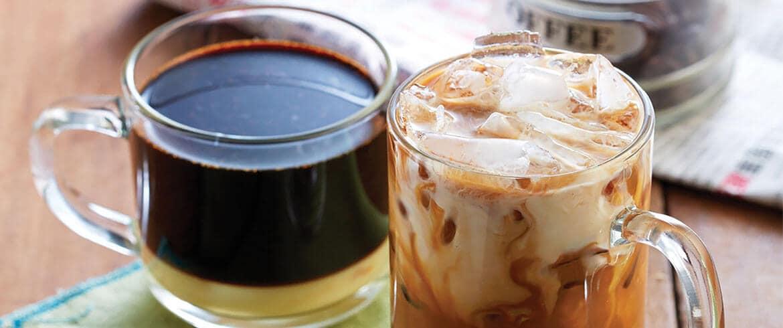เมนูเครื่องดื่ม | สูตรกาแฟร้อนโบราณ  เทคนิคเดียวได้กลิ่นหอมกรุ่นรับอรุณ และ สูตรกาแฟเย็นโบราณ  เมนูโปรดในเช้าเร่งรีบ