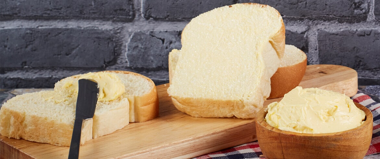 สูตรเบเกอรี่ | ขนมปังเนยนิ่ม