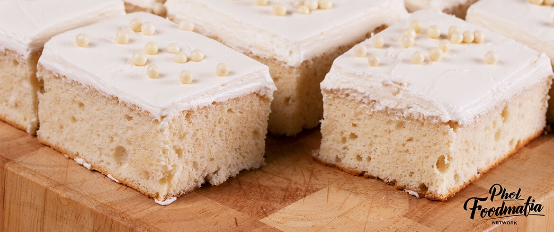 สูตรเบเกอรี่   ไวท์เค้ก